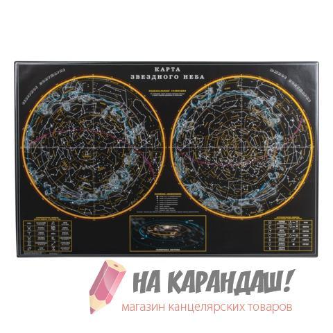 Покрытие настол 380*590мм 2129.3 Карта Звездного неба