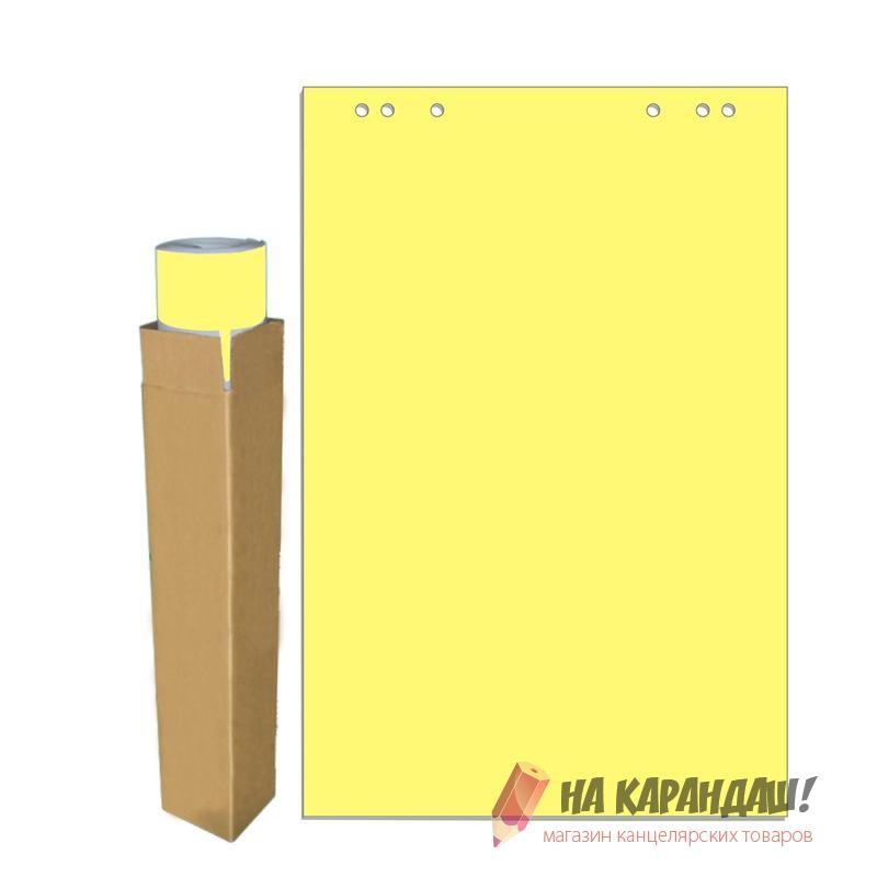 Блок д/флип 20л 68*98см желтая пастель 659382