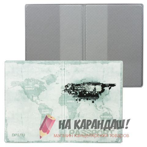 Обложка д/паспорта Твой стиль кожзам Гранж ДПС 2203.Т2