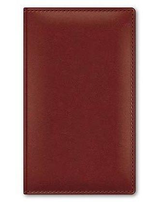 Визитница на 96 визиток 120*200мм Caprice коричневая 02504