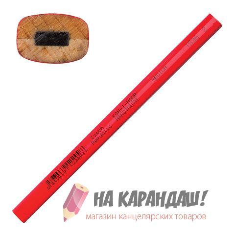 Карандаш графитный без ластика 4-гр KIN-1536/2/ Carpenter /144/