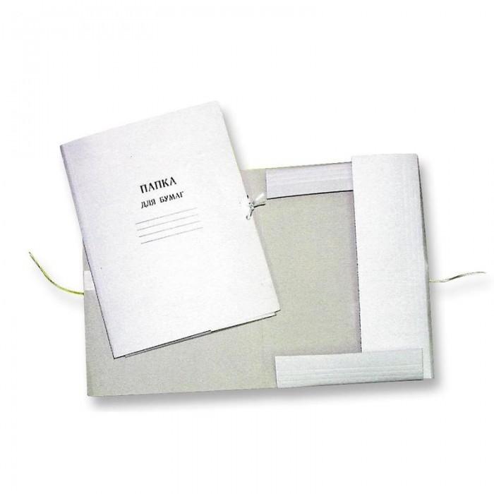 Папки картонные на завязках