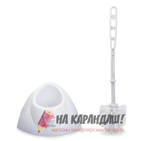 Ерш д/унитазов+подставка углов Блеск Idea M5012