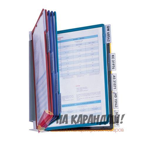 Демосистема настенная 10 демопонелей mix Durable Vario 5567-00 231874