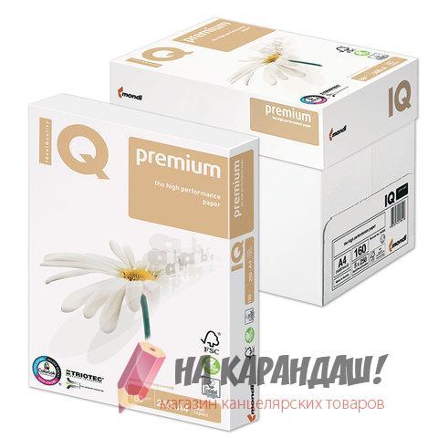 Бумага А4 IQ Premium 160г 250л