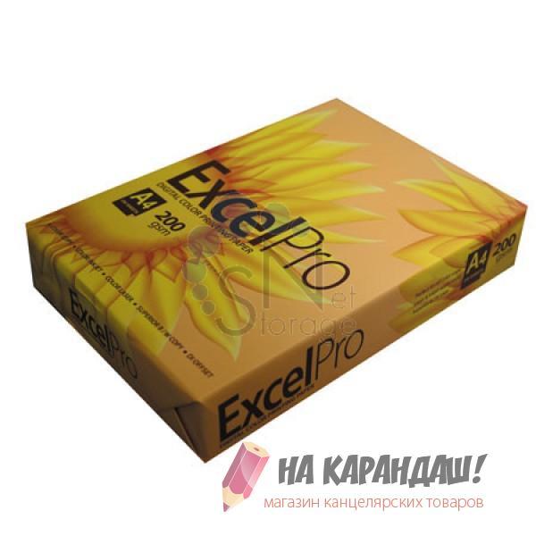 Бумага А4 Excelpro Sun Flower 200г 250л