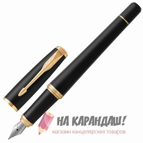 Ручка перо PAR Urban Core F309 Muted Black GT 1931593