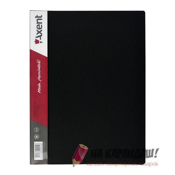Папка 20ф AX-1020 черн