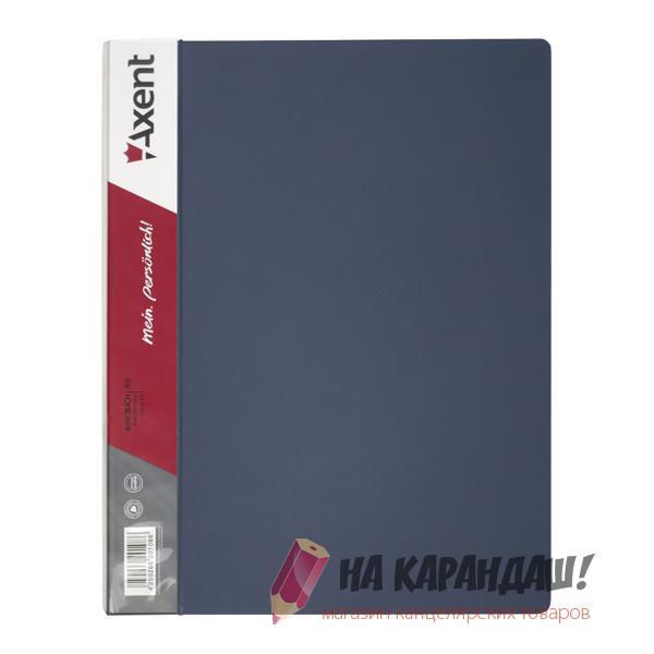 Скоросшиватель А4 усы АХ1304-03 серый 700мкм