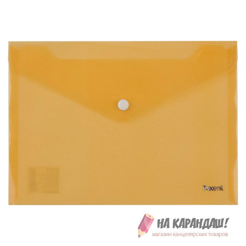 Конверт н/кн А5 Аxent оранж 1522-26