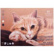 Планшет для пастелей А3 15 листов Холст Теплые цвета 160 гр/м2 3х-цветный блок ПЛ-8886