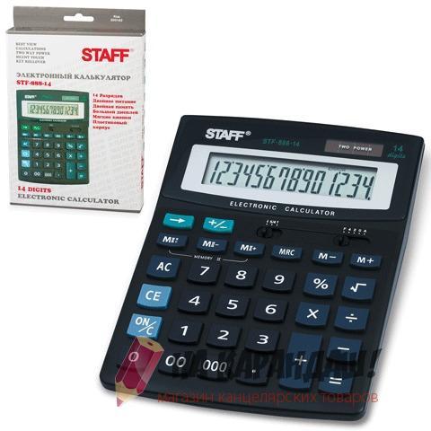 Калькулятор наст 14раз 150*200мм Staff STF-888-14
