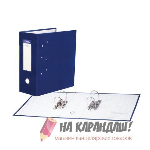 Регистратор А4 с двумя механизмами синий 251541