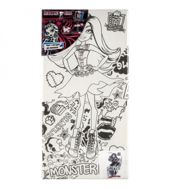 Холст с контуром 15*30см Monster High MH14-215-2K 25733