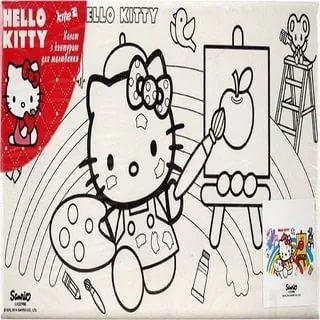 Холст с/контуром 15*30см Hello Kitty HK14-215K 25730