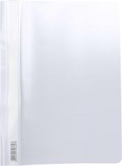 Скоросшиватель пластиковый А4 Semi-Clear Economy белый EK31734