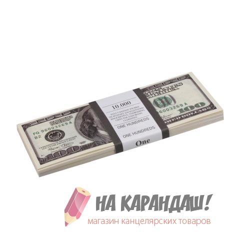"""Шуточные деньги """"100 долларов"""" блист 72403"""