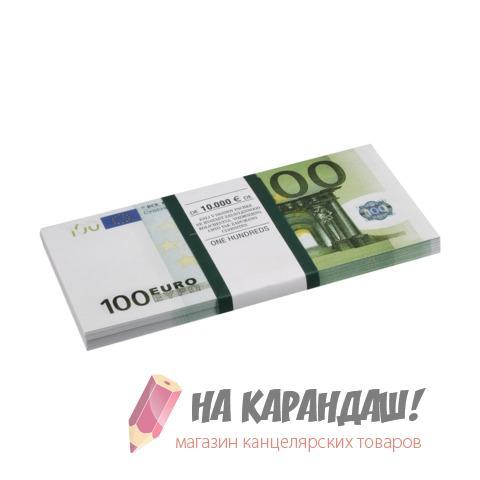 """Шуточные деньги """"100 евро"""" блист 72427"""