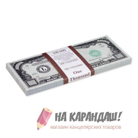 """Шуточные деньги """"1000 долларов"""" блист 72434"""