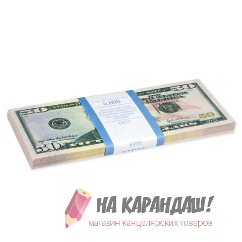 """Шуточные деньги """"50 долларов"""" блист 72397"""