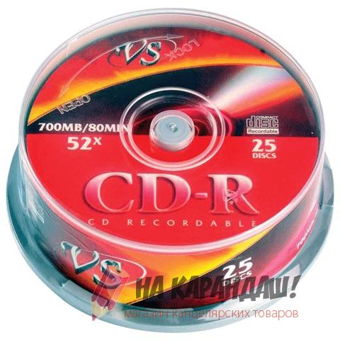 CD-R 700Mb Cake 25шт VS VSCDRIPCB2501 20298