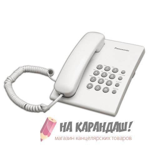 Телефон Panasonic KX-TS2350RUW белый