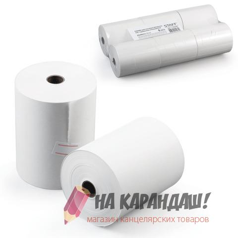 Кассовая лента 80*80*12 термо 60м Staff 110449/6/