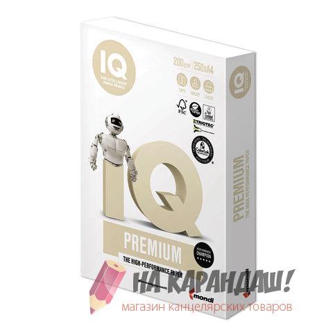 Бумага А4 IQ Premium 200г 250л