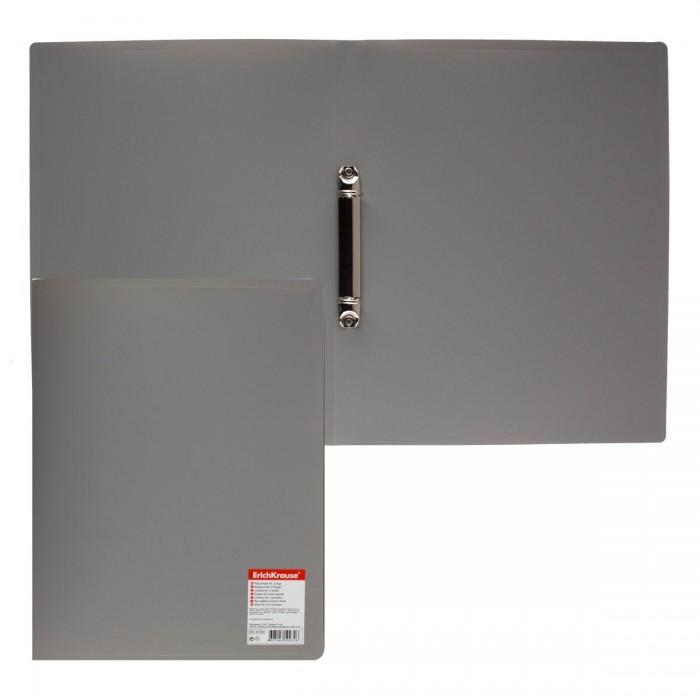 Папка 2-к А4 Standard 24мм сер EK30799