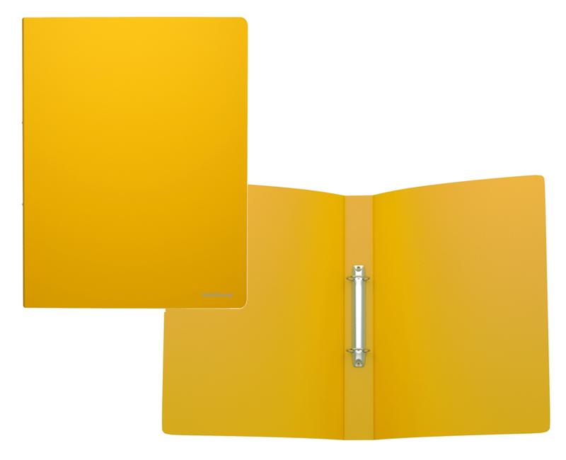 Папка 2-к А4 35мм EK Classic 43019 желтая