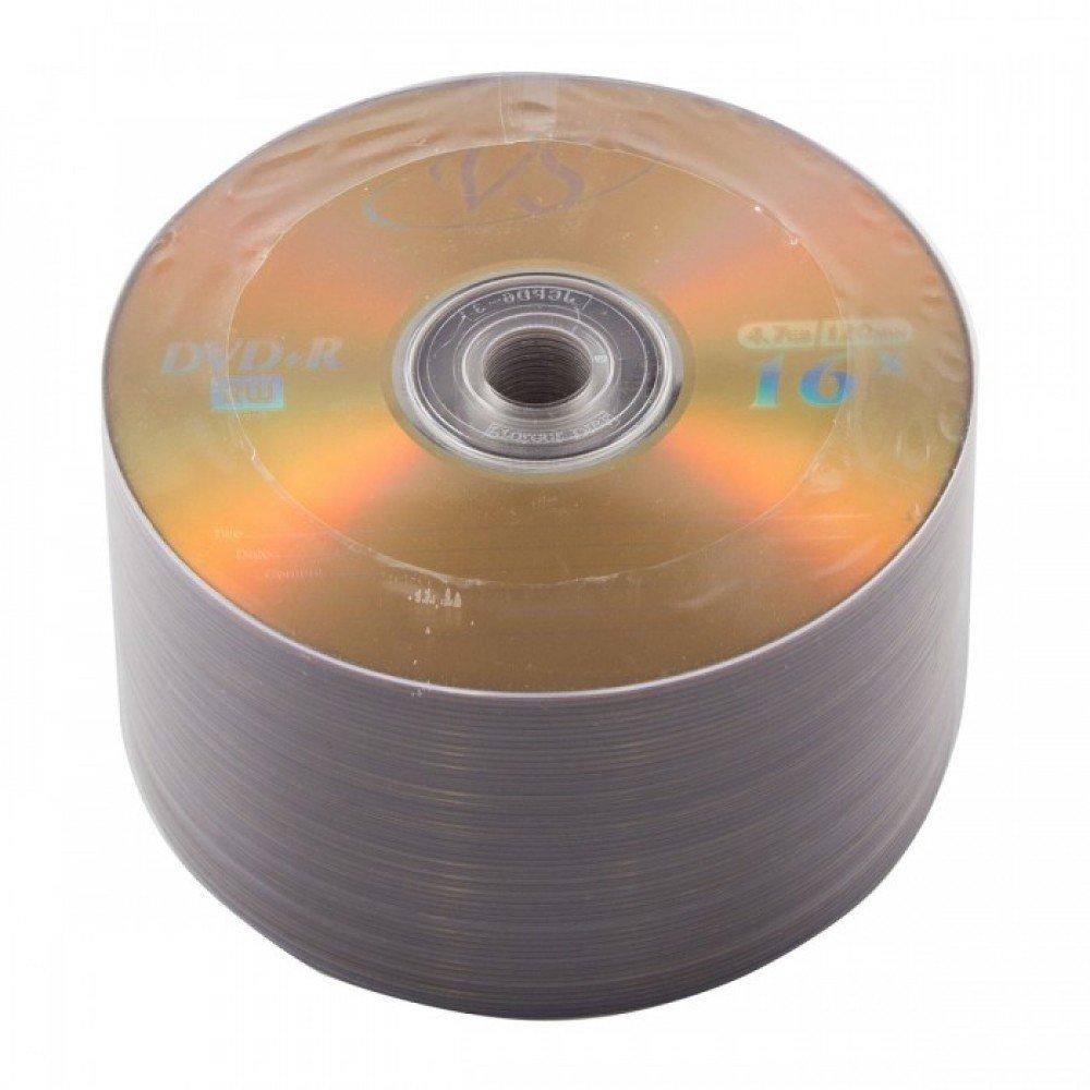 DVD-R 4.7Gb Bulk 50шт VS VSDVDRB5002 20229