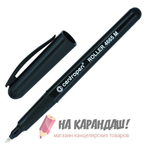Роллер Cen 0.6мм черн Ergo 4665