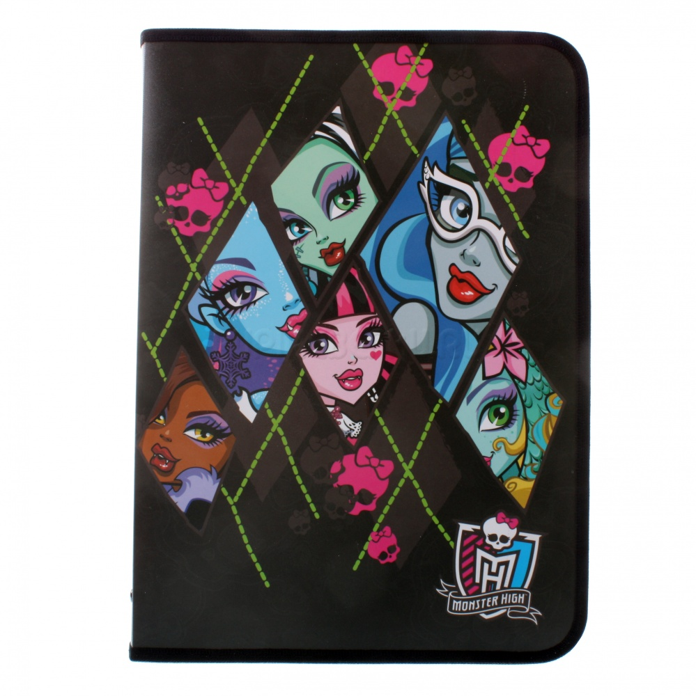 Папка д/труда А4 н/молн Monster High MHAB-US1-PTRA4
