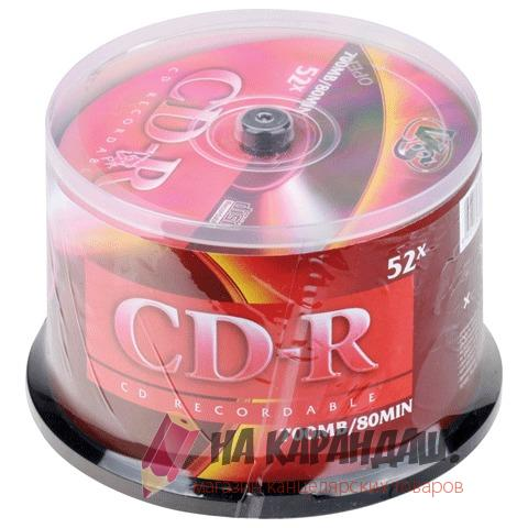 CD-R 700Mb Cake 50шт VS 20106