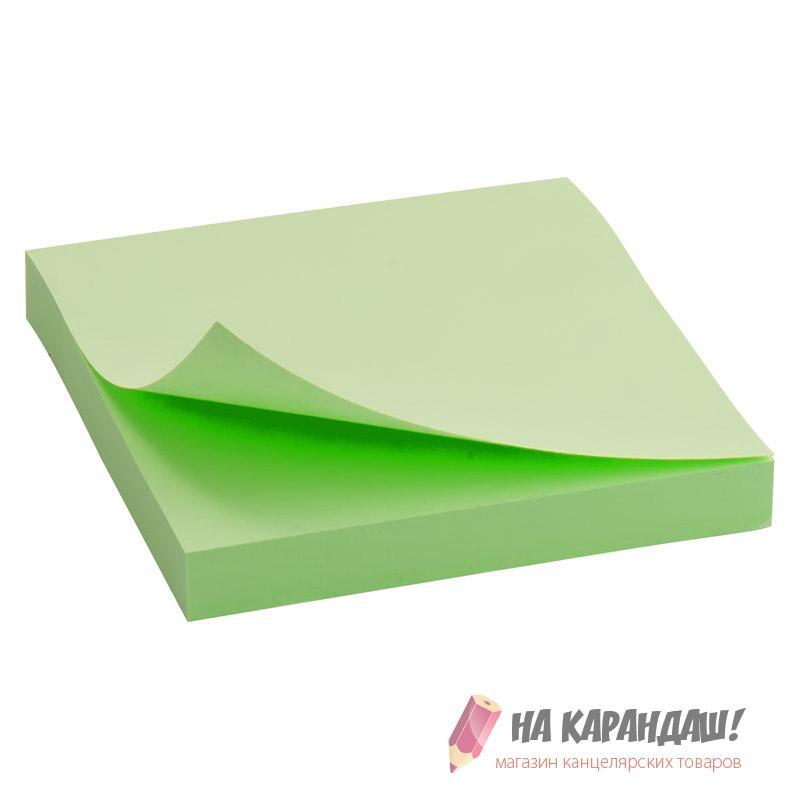 Стикер 75*75*100л D3314-02 Past зелен /24/