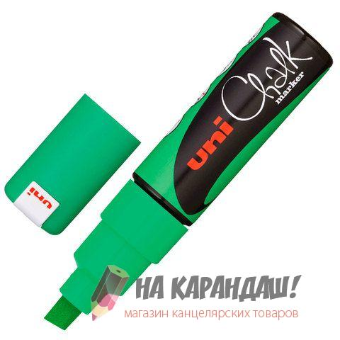 Маркер мелковой PWE-8K 8мм зеленый флюор