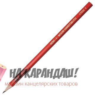 Карандаш графит б/л 6-гр KIN-1703 3B /12/
