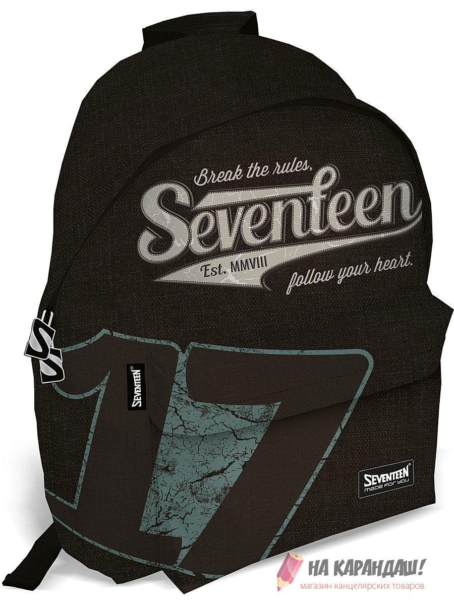 Ранец Seventeen 40*31*15см SVCB-RT4-502