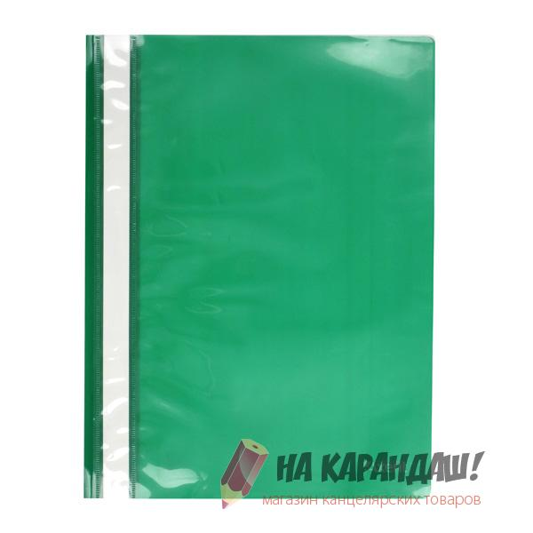 Скоросшиватель А4 120/150мкм зеленый 1317-25