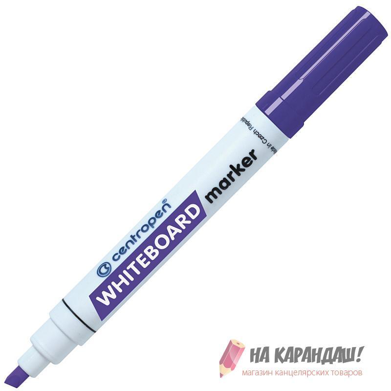 Маркер д/доски ск Cen 8569 1-4.6мм фиолет