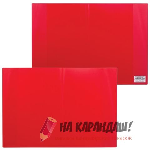Обложка для классного журнала 310*440мм 300мк красная 1894.102