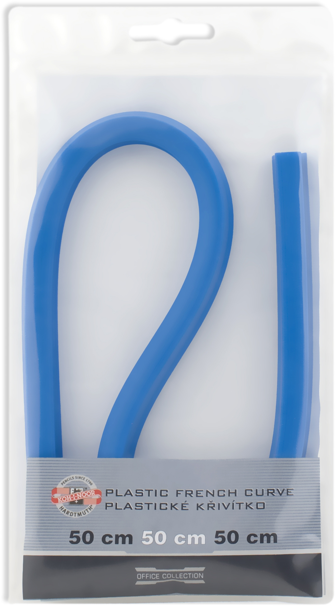 Лекало гибкое, свинцовый стержень в пластике, 50см 0717028