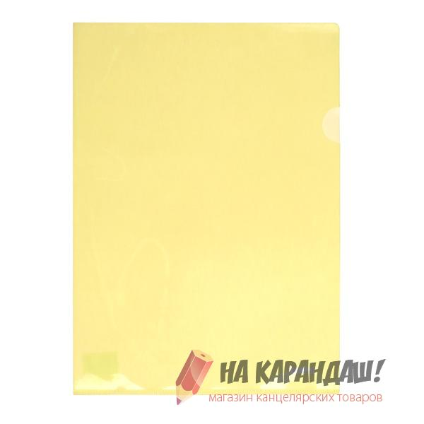 Папка-уголок A4 AX1434-26 желт