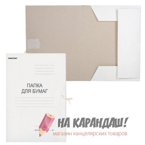 Папка карт н/завяз 280гр Офисмаг 124569