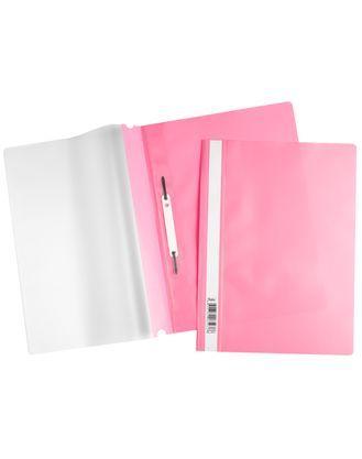 Скоросшиватель А4 120/160мкм розовый ASp_04312