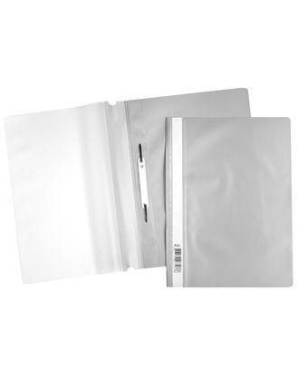 Скоросшиватель А4 120/160мкм серый ASp_04308