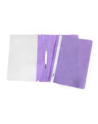 Скоросшиватель А4 120/160мкм фиолетовый ASp_04307