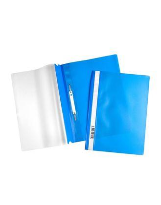 Скоросшиватель А4 120/160мкм синий ASp_04302