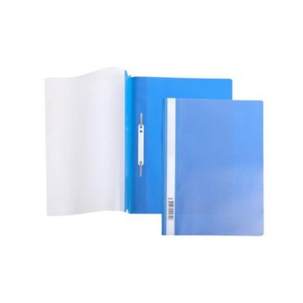 Скоросшиватель А4 140/180мкм синий AS4_00102