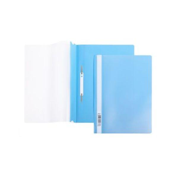 Скоросшиватель А4 140/180мкм голубой AS4_00110